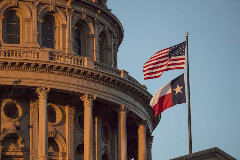 Views Of The Texas State Capital During The South By Southwest (SXSW) Interactive Festival