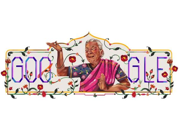 Google Honours Zohra Sehgal With Animated Doodle Renowned Indian Actress And Dancer