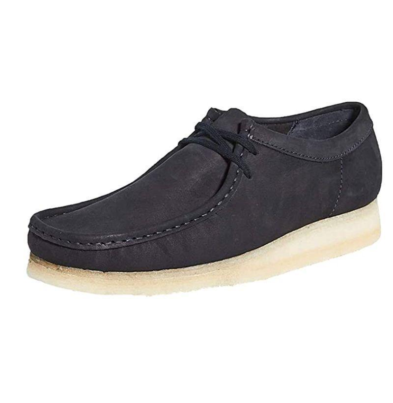 "<p><strong>Clarks</strong></p><p>amazon.com</p><p><strong>$140.00</strong></p><p><a href=""https://www.amazon.com/dp/B07WLPNNM1?tag=syn-yahoo-20&ascsubtag=%5Bartid%7C10054.g.32936561%5Bsrc%7Cyahoo-us"" rel=""nofollow noopener"" target=""_blank"" data-ylk=""slk:Buy"" class=""link rapid-noclick-resp"">Buy</a></p><p>The ideal shoe to kick (heh) your sneaker habit. </p>"