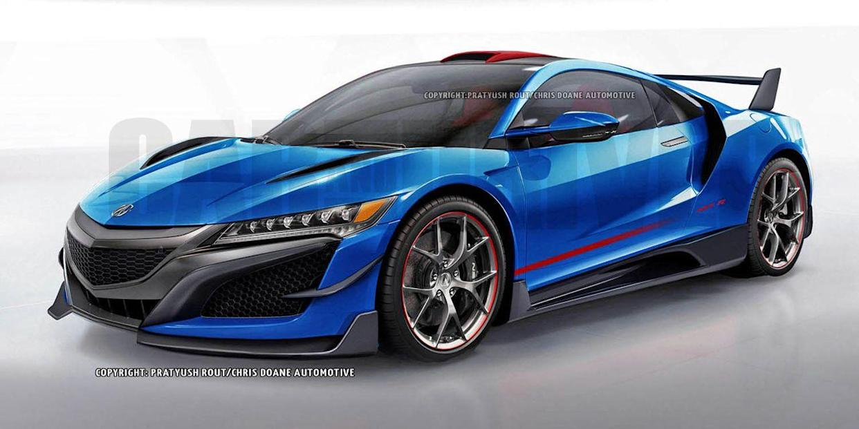 Acura NSX May Add a 650-HP Type R Model and a Convertible