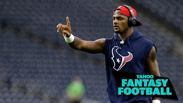 The Houston Texans made a splash with a number of trades over Labor Day weekend. Liz Loza & Matt Harmon discuss on the latest Yahoo Fantasy Football Podcast. (Photo by Tim Warner/Getty Images)
