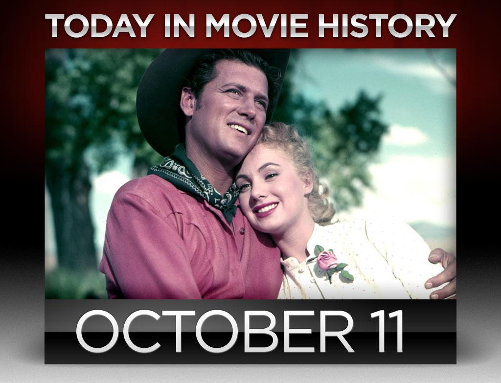 """<b>1955</b> – Fred Zinneman's """"<a href=""""http://movies.yahoo.com/movie/oklahoma/"""">Oklahoma</a>"""" opened in the ear-popping Todd-AO roadshow format on this day. The sprawling musical, which was adapted from the Broadway hit, earned sound engineer Fred Hynes the first of his five Oscars for best sound; it was also the first of 19 Oscars for the famed Todd-AO post-production company."""