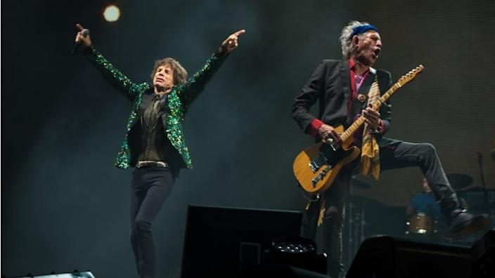 Locked-down Rolling Stones release new track 'Living in a Ghost Town'