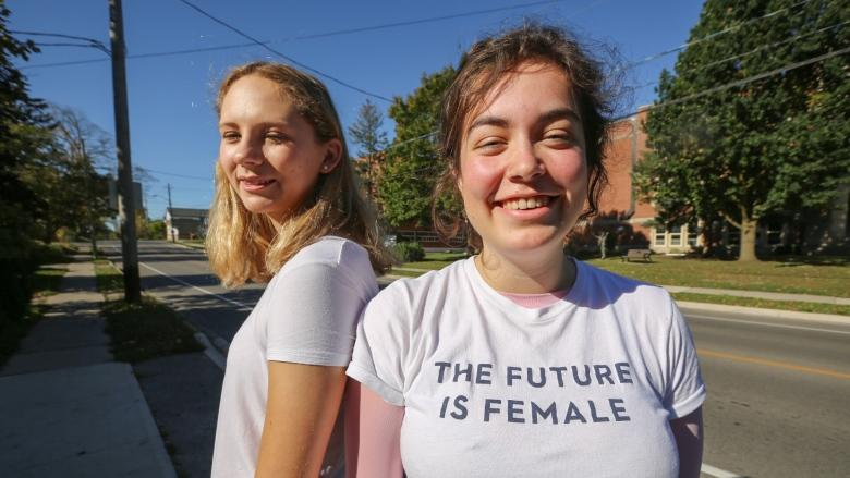 'The Future is Female': T-shirt worn by student sparks discussion at Guelph high school
