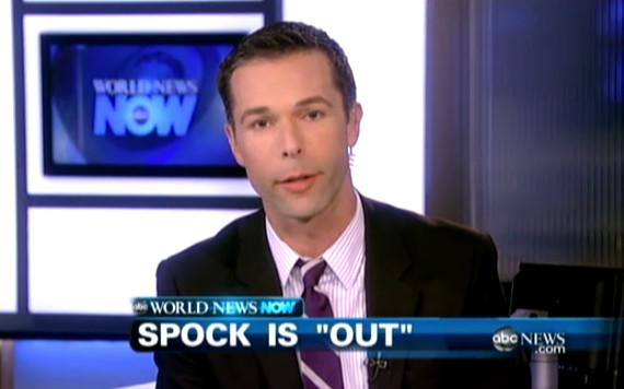 Gay ABC News anchor comes out while talking about 'Star Trek
