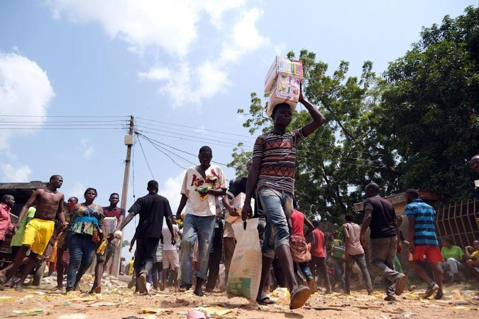 <p>Nigeria has millions of people at risk from acute hunger</p> (AFP/Getty)