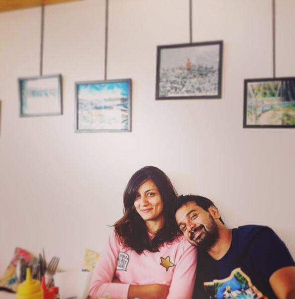 Namit Das and Shruti Vyas