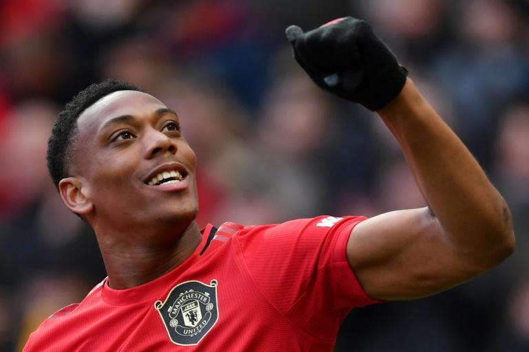 Anthony Martial has scored 10 Premier League goals this season for Manchester United
