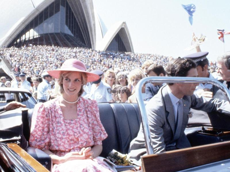 Princess Diana and Prince Charles in Sydney, Australia on 30 March 1983: John Shelley/Shutterstock