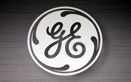 The General Electric logo is seen in a Sears store in Schaumburg