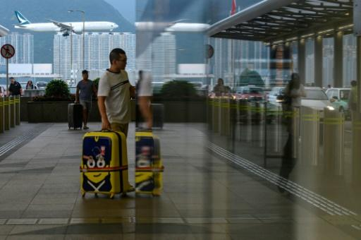 Flights at Hong Kong's airport were operating largely on schedule following two days of rallies that paralysed the global travel hub
