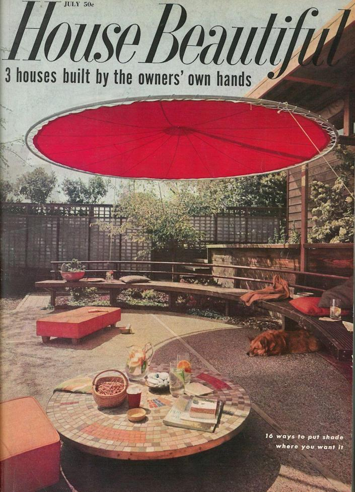 <p>OK, this round floating canopy is seriously cool.</p>