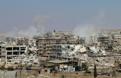 Syria rebels prevent civilians from leaving Aleppo: monitor