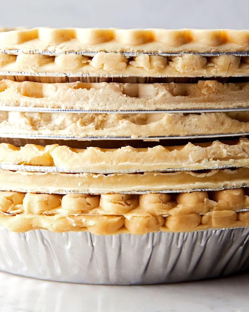 Have you considered a seven-layer-crust-filled pie for this Thanksgiving?