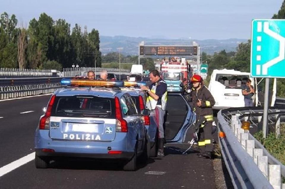 Incidente stradale in A1