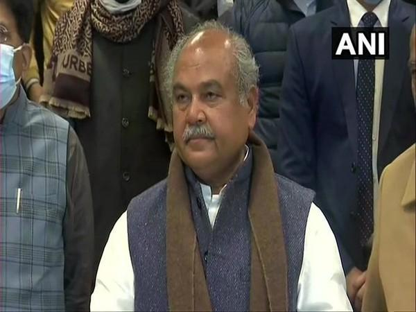 Union Agriculture Minister Narendra Singh Tomar