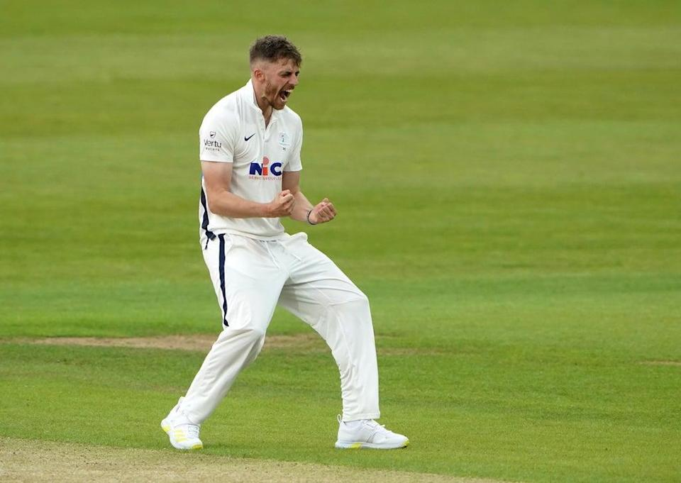 Ben Coad was among the wickets for Yorkshire (Zac Goodwin/PA) (PA Wire)