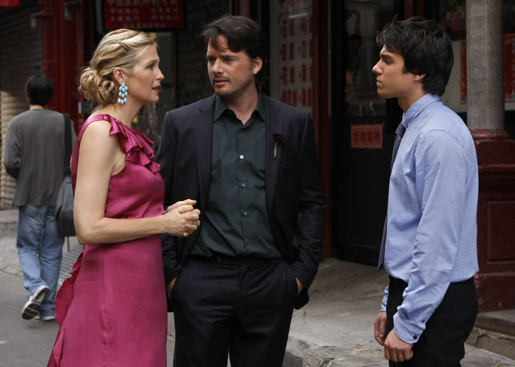 """<b>MOST WTF STORYLINE:</b><br><b>Rufus </b>(<span class=""""st"""">Matthew Settle)</span><b> and Lily have a long-lost love child!</b> (Season 3)<br><br>Back when Serena and Dan first met, in Season 1, everyone thought Rufus and Lily's big secret was that they'd dated way back when. Nope, turned out they had a love child named Scott (Chris Riggi) -- and Rufus didn't know about him! Scott posed as an NYU student and dated Vanessa to learn more about his birth parents, but his true identity wasn't revealed until Georgina (of course) spilled it at Rufus and Lily's wedding."""