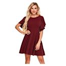 """What better way to set yourself up for a night of dancing and mingling than with a breezy dress? Take this sweet, A-line swing dress up a notch with a sky-high heel or statement jewelry. $32, Amazon. <a href=""""https://www.amazon.com/Womens-Stretchy-Flared-Skater-Cocktail/dp/B08FJ3TVNN?th=1&psc=1"""" rel=""""nofollow noopener"""" target=""""_blank"""" data-ylk=""""slk:Get it now!"""" class=""""link rapid-noclick-resp"""">Get it now!</a>"""
