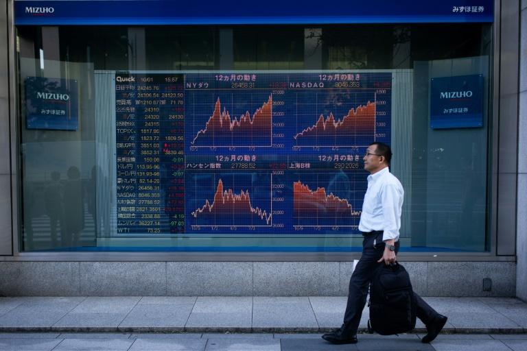 Some Asian markets climbed, but not China