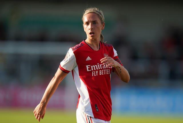 Jordan Nobbs has not bene included in Wiegman's 24-player squad (Adam Davy/PA).