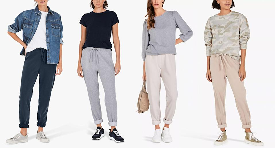 These Hush joggers have become women's lockdown BFF. (Hush/John Lewis)
