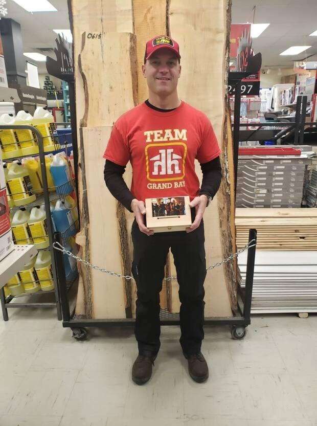 John Jarvis operates the Home Hardware in Grand Bay - Westfield and said lumber prices have been rising all year from both New Brunswick and out-of-province mills.
