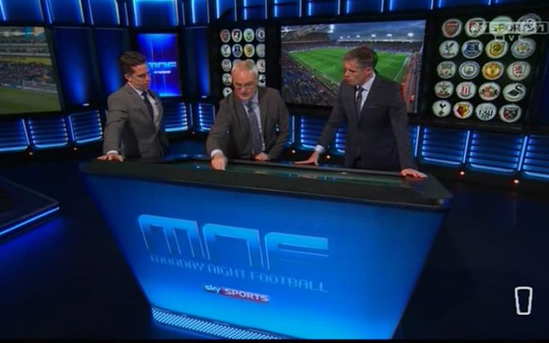 Ranieri on MNF - Credit: Sky Sports