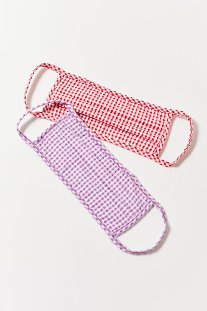"<h2>Urban Renewal Gingham Seersucker Reusable Face Mask Set</h2>A mask set because maskne is real and if you don't know when you'll be doing your next load of laundry, switching between clean masks will drastically improve the way your skin feels.<br><br><strong>Urban Renewal</strong> Urban Renewal Gingham Seersucker Reusable Face Mask Set, $, available at <a href=""https://go.skimresources.com/?id=30283X879131&url=https%3A%2F%2Fwww.urbanoutfitters.com%2Fshop%2Furban-renewal-gingham-seersucker-reusable-face-mask-set"" rel=""nofollow noopener"" target=""_blank"" data-ylk=""slk:Urban Outfitters"" class=""link rapid-noclick-resp"">Urban Outfitters</a>"