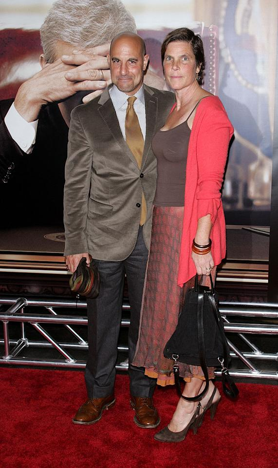 "<a href=""http://movies.yahoo.com/movie/contributor/1800018595"">Stanley Tucci</a> and wife at the New York premiere of <a href=""http://movies.yahoo.com/movie/1810026489/info"">W.</a> - 10/14/2008"