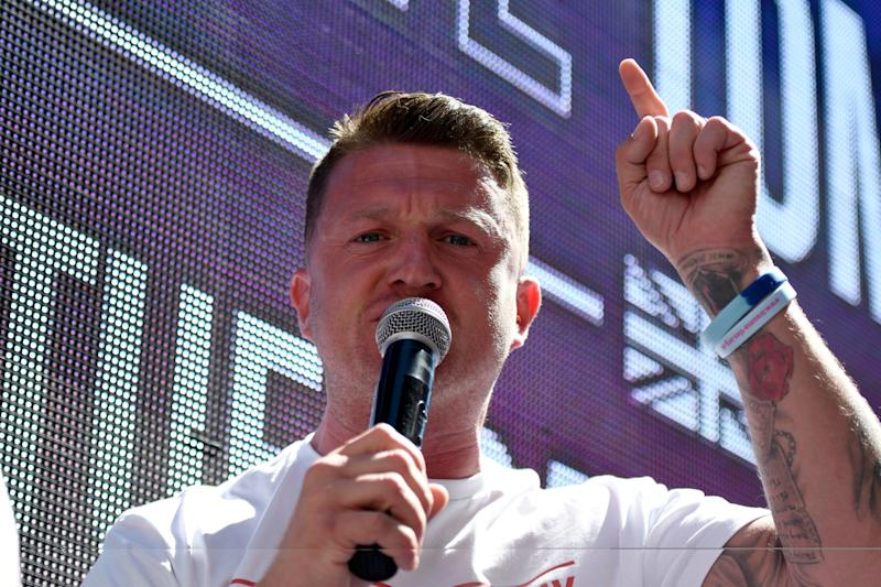 <strong>Far-right activist Stephen Yaxley-Lennon&nbsp;</strong> (Photo: SOPA Images via Getty Images)