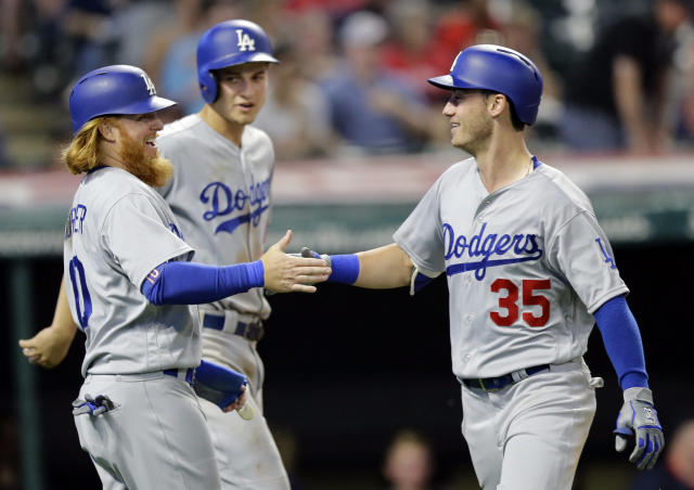 The Dodgers have drafted well and developed superstars from other organizations. (AP Photo/Tony Dejak)