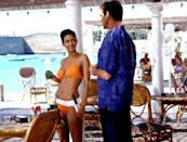 """<p>This is the fourth and final film in which Pierce Brosnan starred as M16 agent James Bond, but what we really need to talk about is Halle Berry's famous appearance in <em>that</em> orange bikini. As NSA agent Jinx Johnson, she was a revelation and held her own against 007.</p> <p><a href=""""https://www.amazon.com/Another-Pierce-Brosnan-James-Bond/dp/B0020Q099Y"""" rel=""""nofollow noopener"""" target=""""_blank"""" data-ylk=""""slk:Available to rent on Amazon Prime Video"""" class=""""link rapid-noclick-resp""""><em>Available to rent on Amazon Prime Video</em></a></p>"""