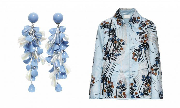 H&M Sustainable Earrings and Jacket