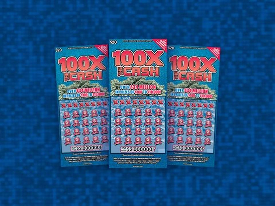 A Cumberland County lottery player scored a winning lottery ticket while stopping for soda, officials said.