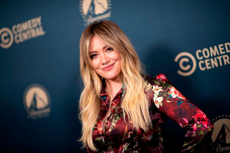Hilary Duff played Lizzie McGuire from 2001 to 2004. (Photo: VALERIE MACON/AFP via Getty Images)