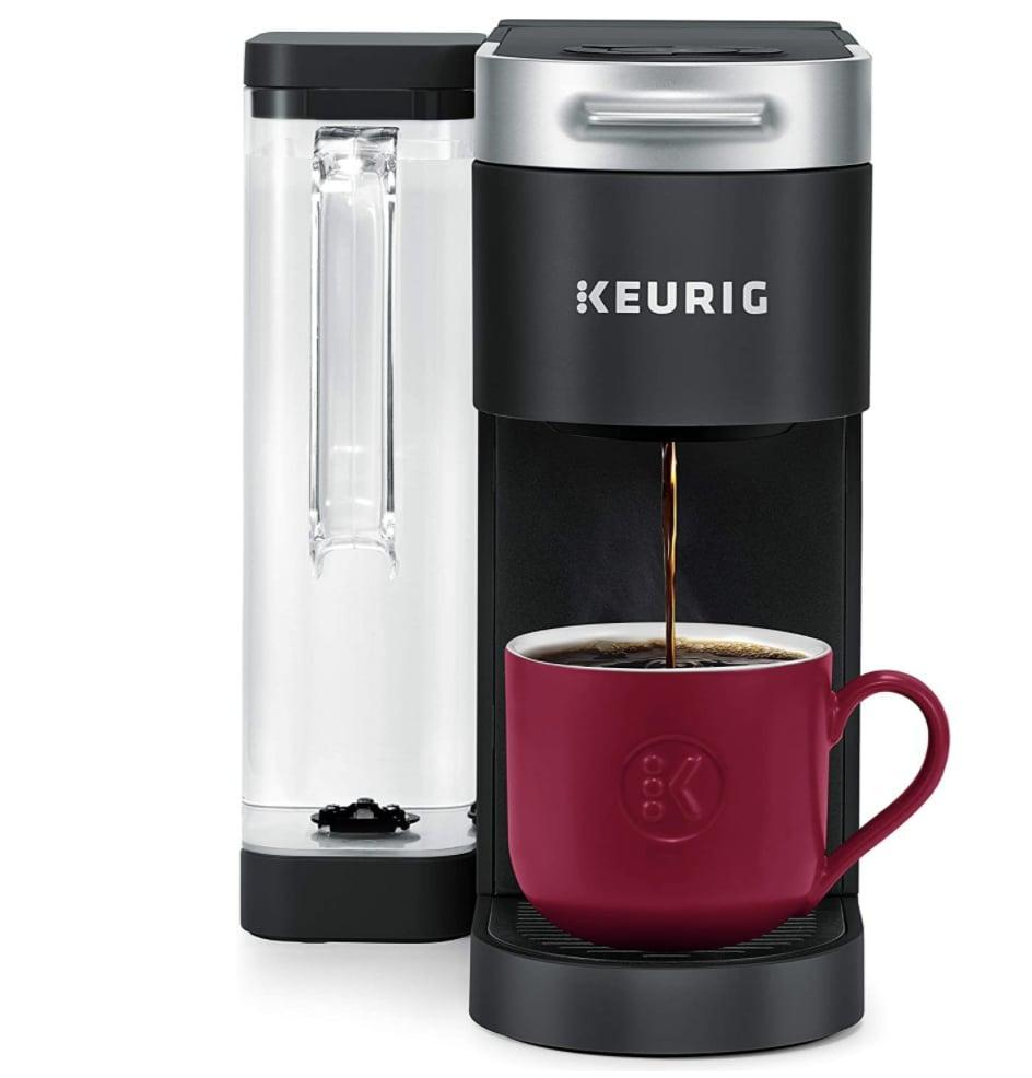 <p>They can enjoy their morning cup of coffee easily with this <span>Keurig K-Supreme Coffee Maker</span> ($140, originally $150).</p>