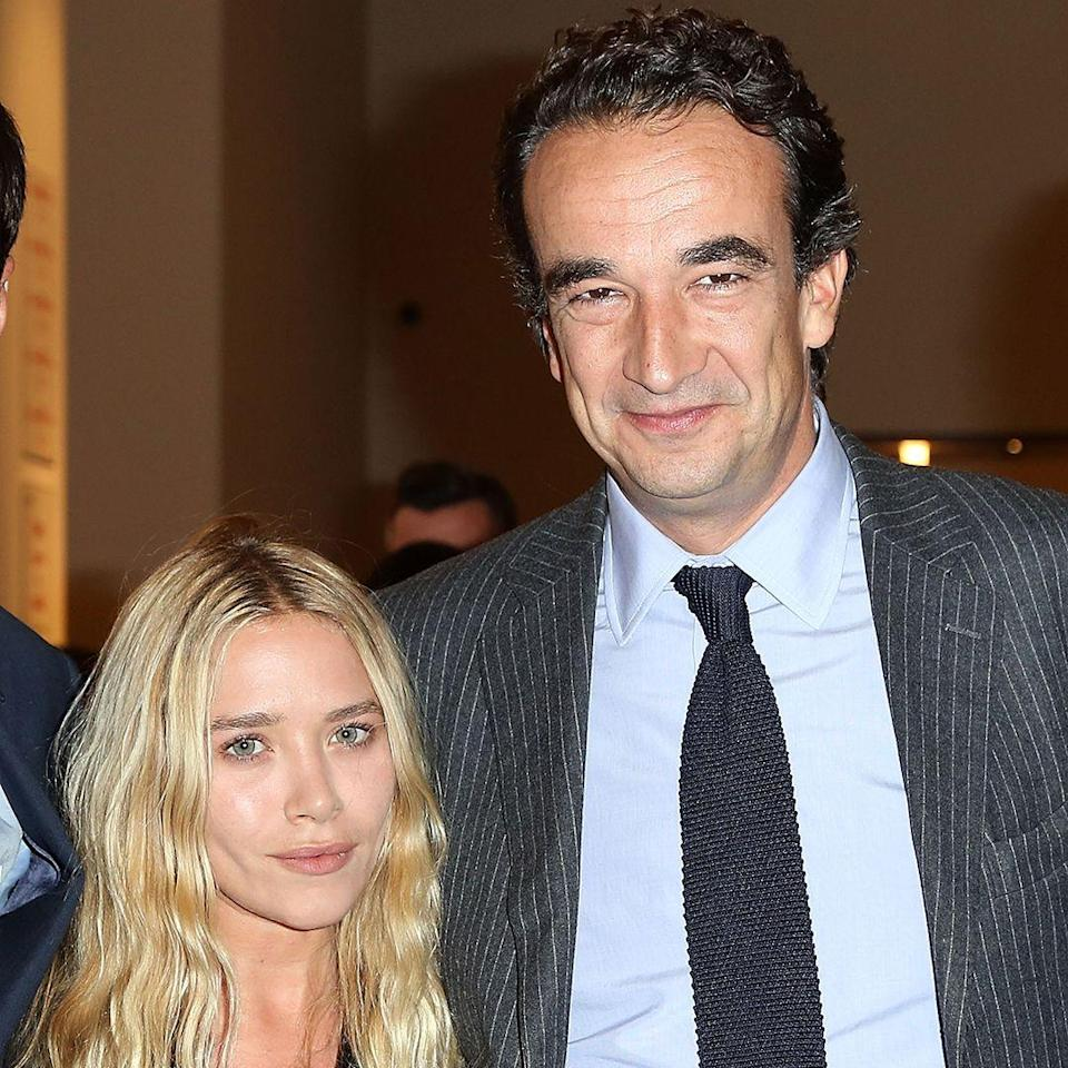 """<p><strong>Age gap: </strong>17 years </p><p>Mary-Kate Olsen, 33, married French banker Olivier Sarkozy, 50, in Manhattan after three years of dating, reports <em><a href=""""https://www.usmagazine.com/celebrity-news/news/mary-kate-olsen-opens-up-about-married-life-with-olivier-sarkozy-w471229/"""" rel=""""nofollow noopener"""" target=""""_blank"""" data-ylk=""""slk:Us Weekly"""" class=""""link rapid-noclick-resp"""">Us Weekly</a></em>. The two now live in Manhattan together, and Mary-Kate is a stepmom to Olivier's two children, Julien and Margo. </p>"""