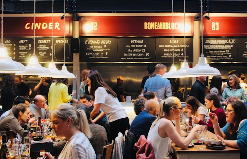 Duke Street Market has a buzzy atmosphere and great food. [Photo: Duke Street Market]