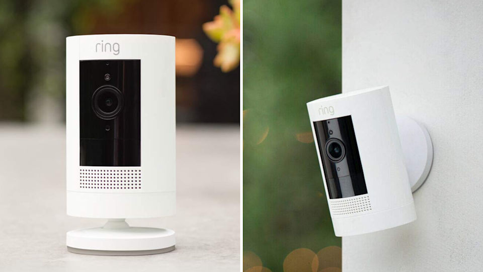 Get a Ring Stick-Up Cam three-pack for just $260 (Photo: Ring)