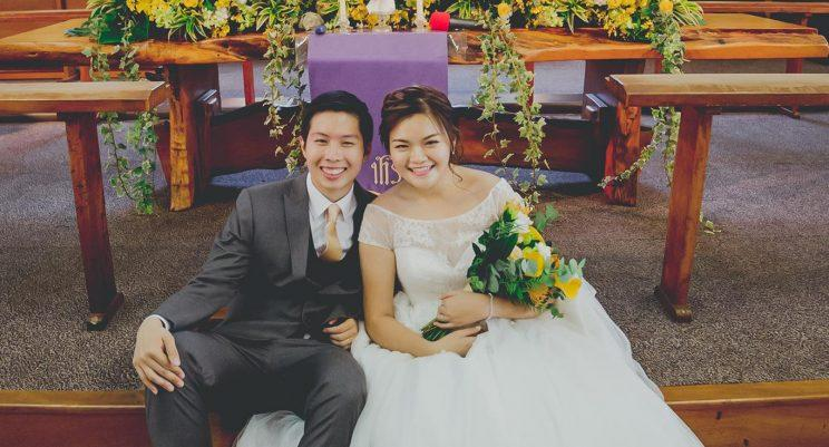Luke Yan and Abigail Lee have no regrets about getting married at a younger age. (Photo: Abigail Lee)
