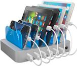 <p>This <span>Hercules Tuff Fast Charging Station</span> ($40) will make sure all their devices are in order.</p>