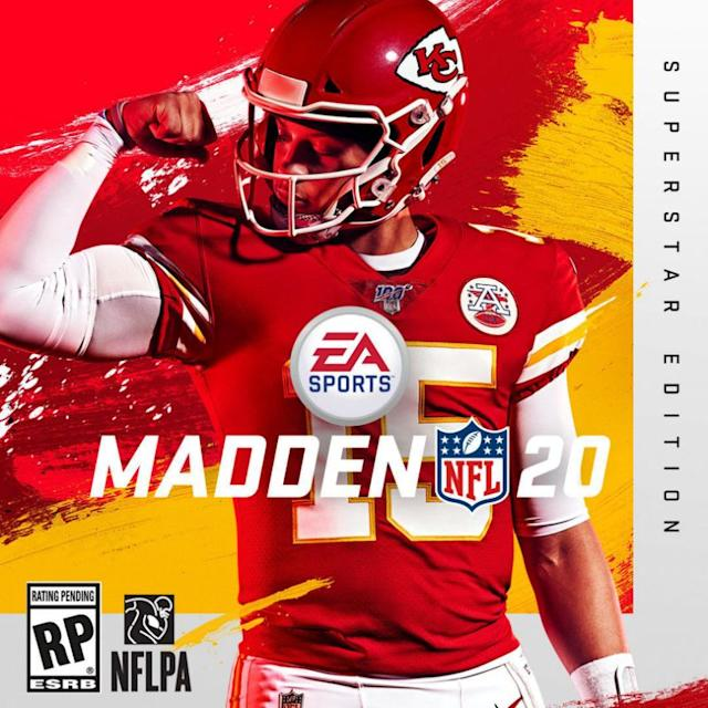 Patrick Mahomes is the cover-star player of the 2020 edition of the Madden video game franchise.