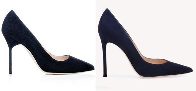 Meghan's pair were Manolo Blahnik, retailing for $877, while Kate wore an $874 pair of Gianvito Rossi stilettos.