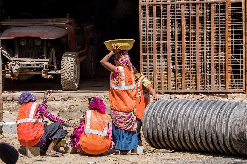 A majority of Indian women are employed in the unorganized sector which has been hit harder by the pandemic.