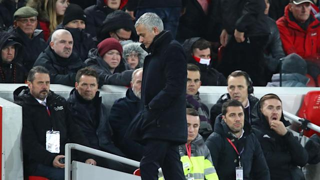 Jose Mourinho grew frustrated when asked if he had the full support of Manchester United's squad following their defeat to Liverpool.