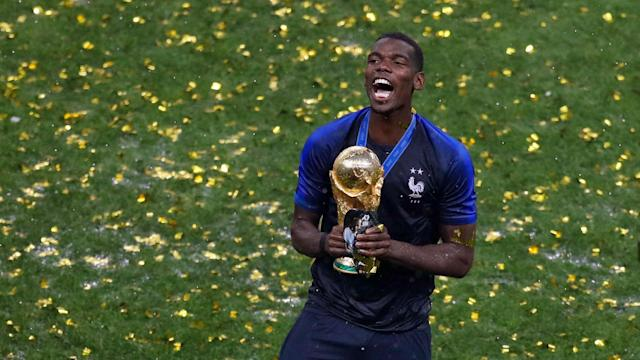 France's second World Cup triumph came after a pre-match team talk from the Manchester United star