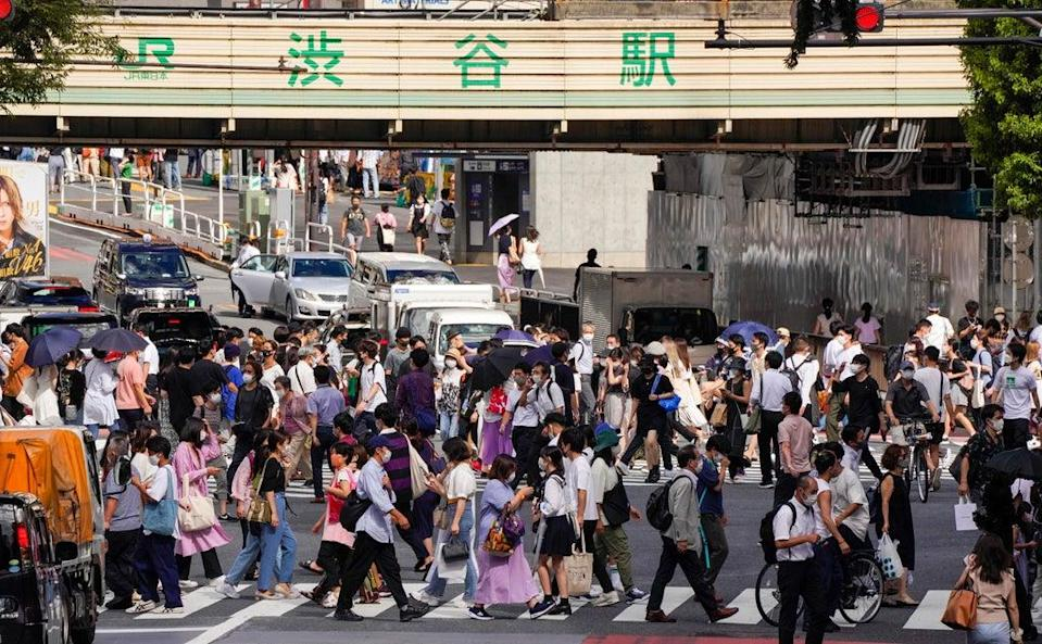 Japanese government decided on 17 August 2021 to extend a state of emergency in six prefectures including Tokyo and add other seven prefectures until 12 September due to the outbreak of COVID-19 pandemic (EPA)