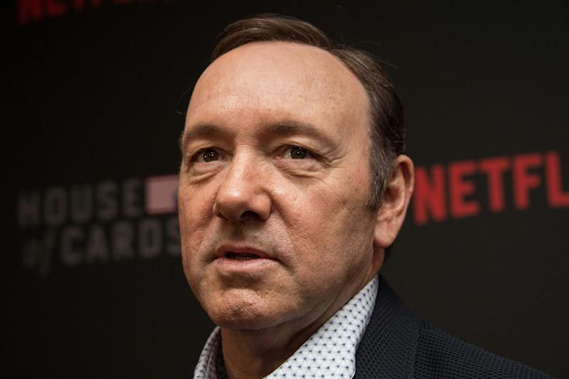 Actor Kevin Spacey denied the allegations. (AFP/Getty Images)