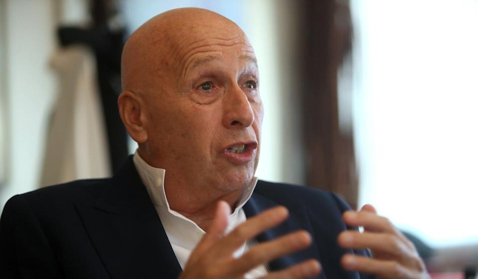 """Allan Zeman, the biggest landlord in Lan Kwai Fong, welcomed the rules revision, saying """"many bars were already on life support"""". Photo: Winson Wong"""